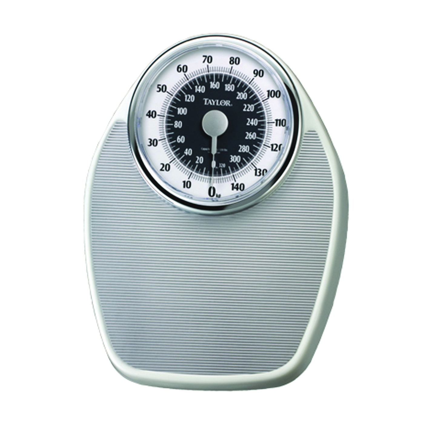 Picture of Taylor 1351ES Speedometer Scale, 330 lb Capacity, Analog Display, Steel Housing Material, Silver, 7-1/4 in OAW