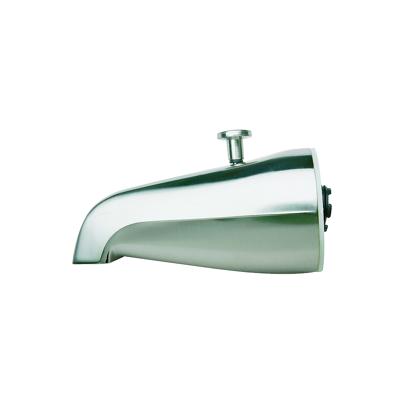 Picture of Plumb Pak PP825-31 Bathtub Spout, 3/4 in Connection, IPS, Chrome, For: 1/2 in or 3/4 in Pipe