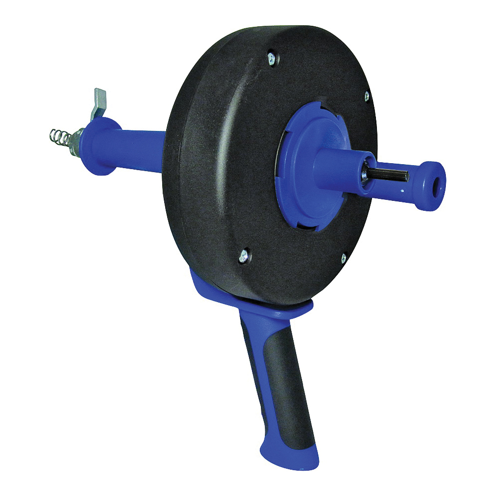 Picture of COBRA TOOLS 86000 Series 86150 Drum Auger, 1/4 in Dia Cable, 15 ft L Cable