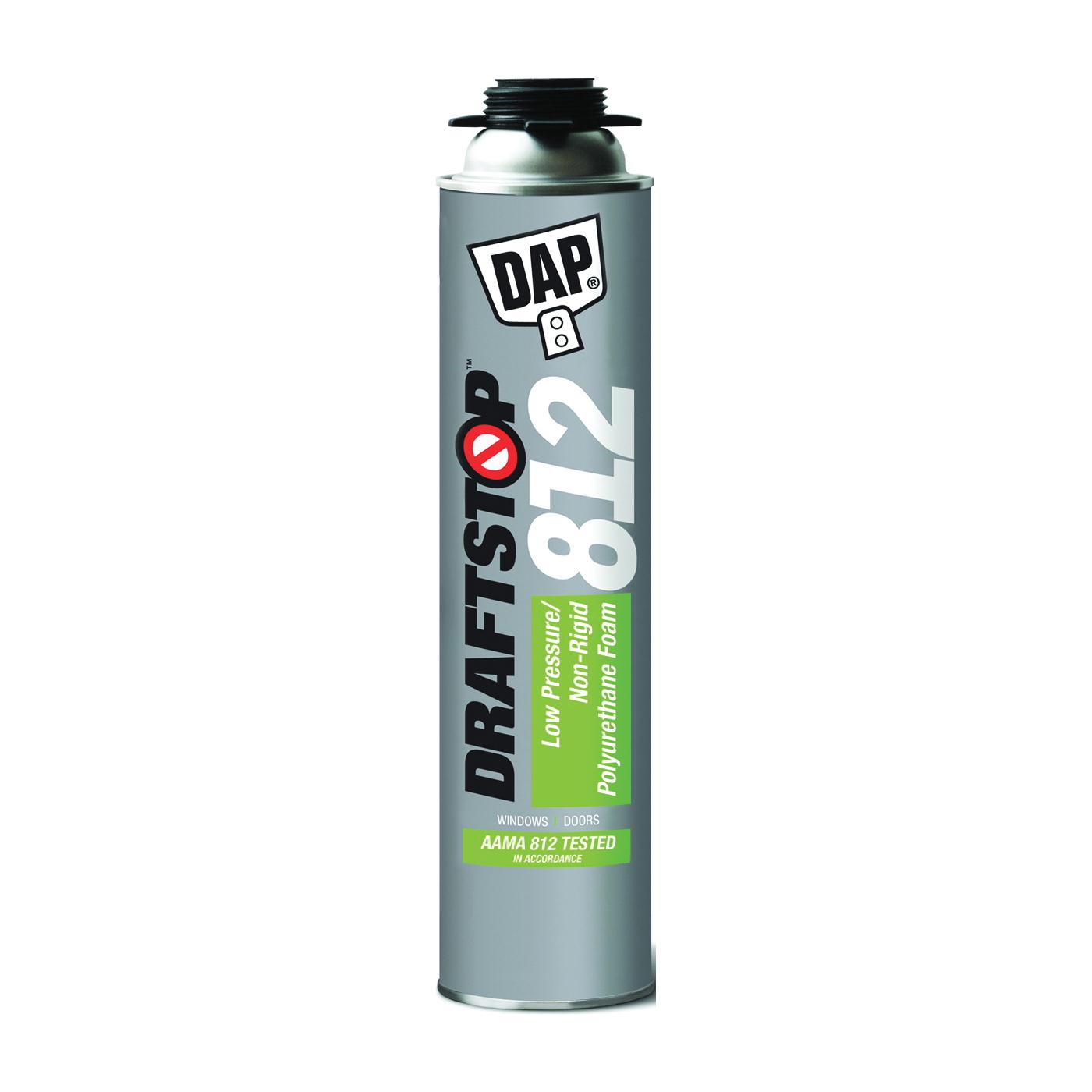 Picture of DAP 80812 Foam Sealant, White, 26 oz Package, Aerosol Can