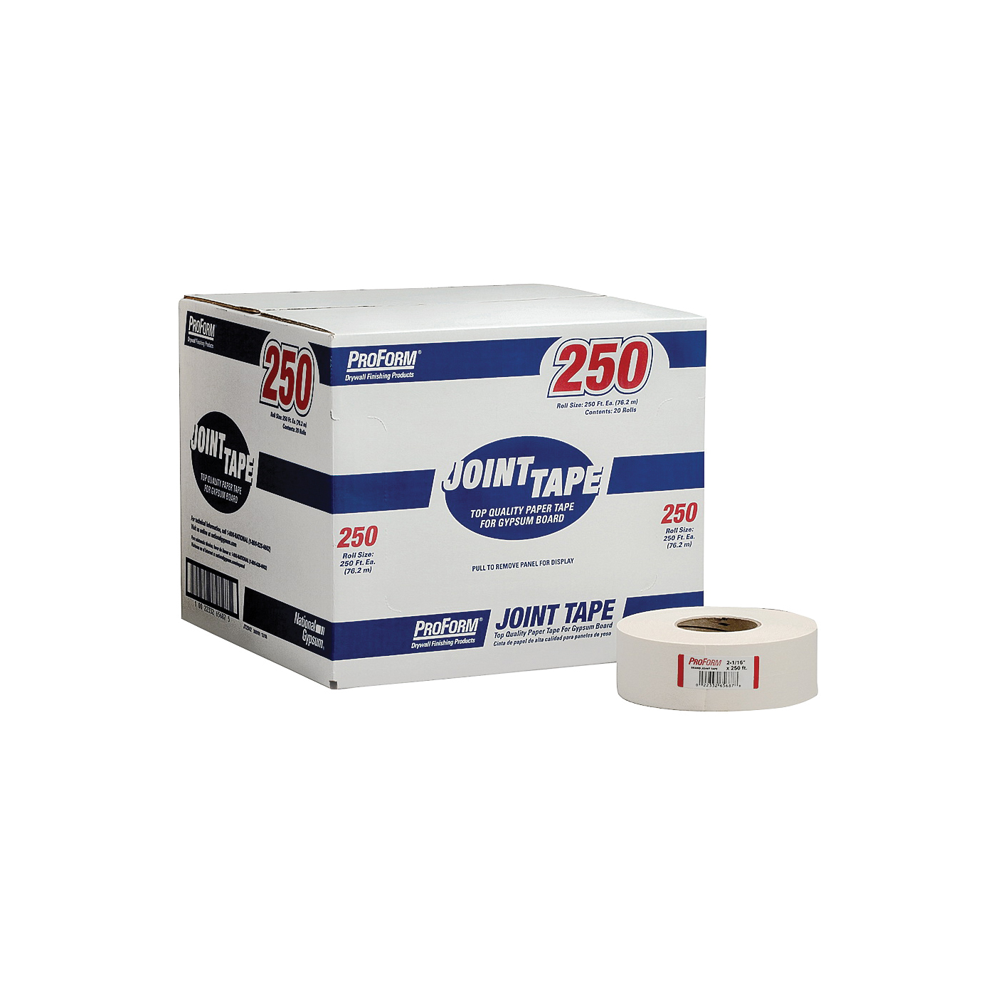 Picture of Proform JT2342 Joint Tape, 250 ft L, 2-1/16 in W, Solid, Roll