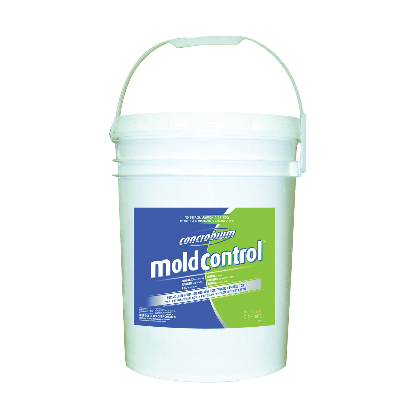 Picture of Concrobium 025-005 Mold Control, 5 gal Package, Bottle, Liquid, Odorless, Clear