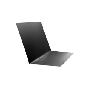Picture of BILLY PENN 6791-500 Step Flashing, 3 in L, 4 in W, 28 Gauge, Aluminum, Black