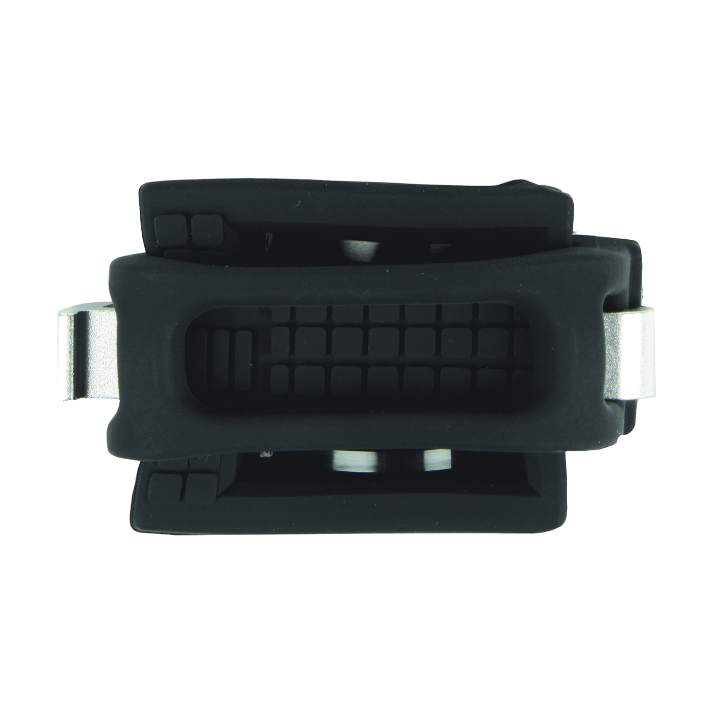 Picture of Nite Ize HDB-01-R3 Smart Phone Bar Mount, Silicone, Black, Vertical Bar Mounting