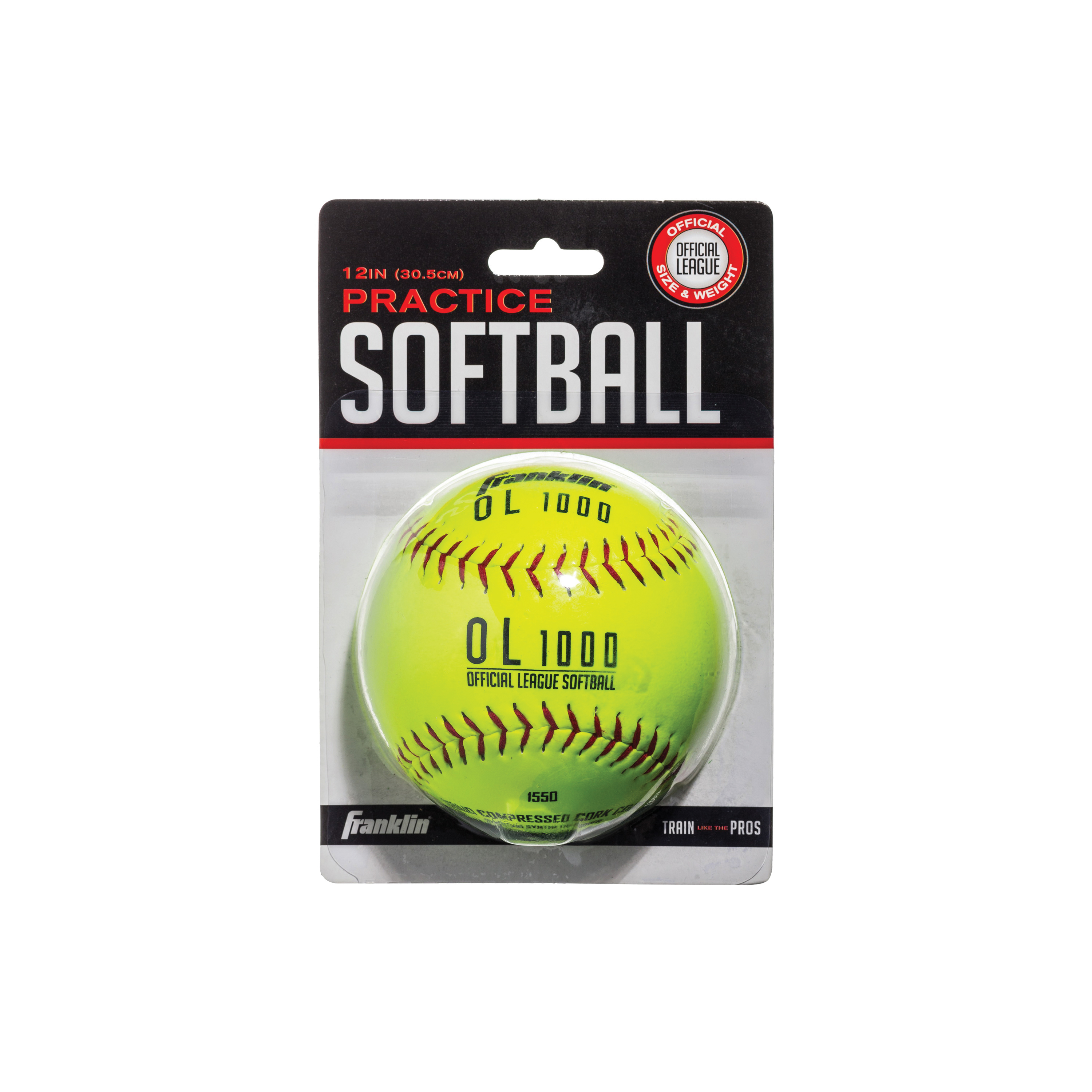 Picture of Franklin Sports OL 1000 10981 Soft Ball, 12 in Dia, Synthetic, 12, Blister