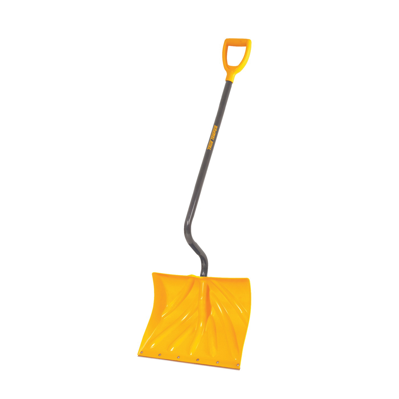 Picture of TRUE TEMPER 1603072 Snow Shovel, 18 in W Blade, 13-1/2 in L Blade, Combo Blade, Polyethylene Blade, Steel Handle