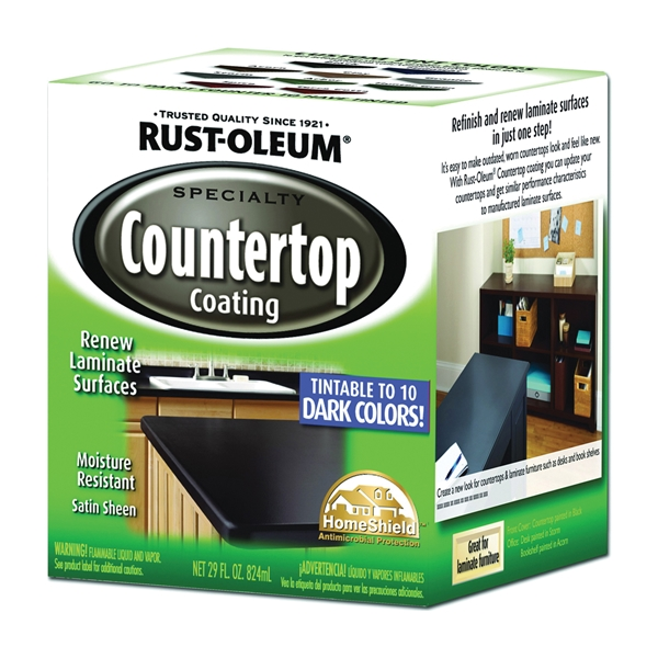 Picture of RUST-OLEUM SPECIALTY 254853 Countertop Deep Tint Base, Liquid, Solvent-Like, 875 mL Package