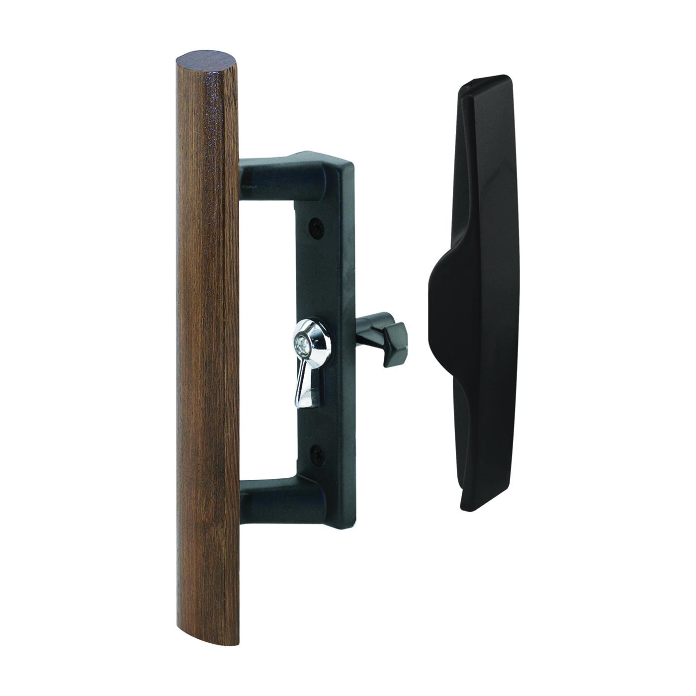 Picture of Prime-Line C 1095 Handle Set, Die-Cast/Wood, Wood, 1 in Thick Door