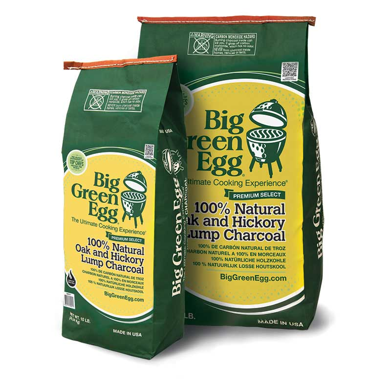 Picture of Big Green Egg 110503 Lump Charcoal, 10 lb Package, Bag