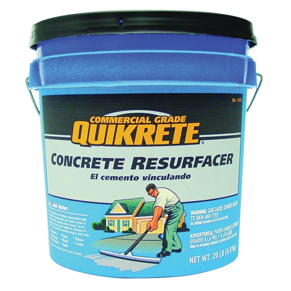 Picture of Quikrete 1131-20 Concrete Resurfacer, Powder, Gray, 20 lb Package, Pail