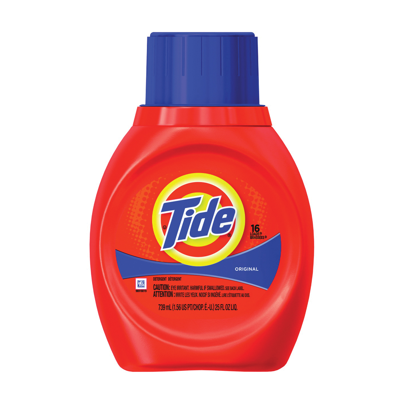 Picture of Tide 13875 Laundry Detergent, 25 oz, Bottle, Liquid, Original