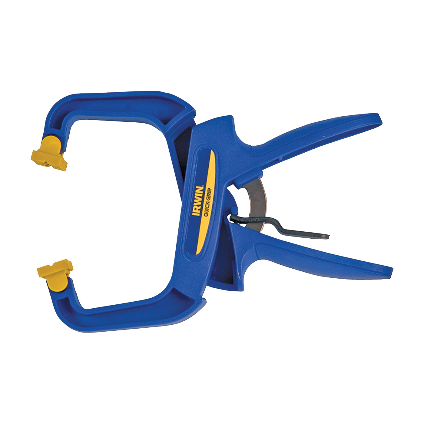 Picture of IRWIN 59400CD Handi-Clamp, 75 lb Clamping, 4 in Max Opening Size, 3 in D Throat, Resin Body