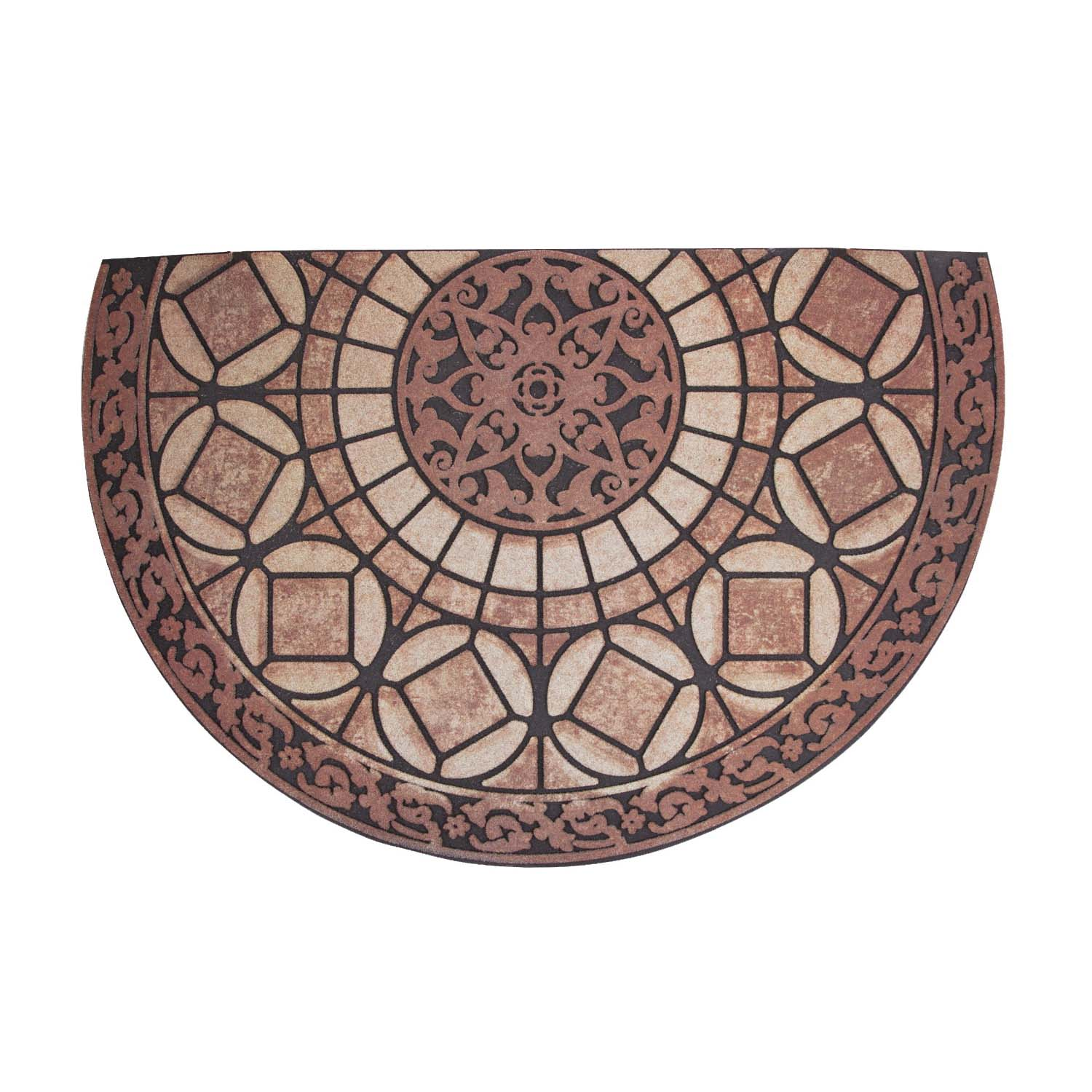 Picture of Simple Spaces T450 Door Mat, 33 in L, 21 in W, Flocking Pattern