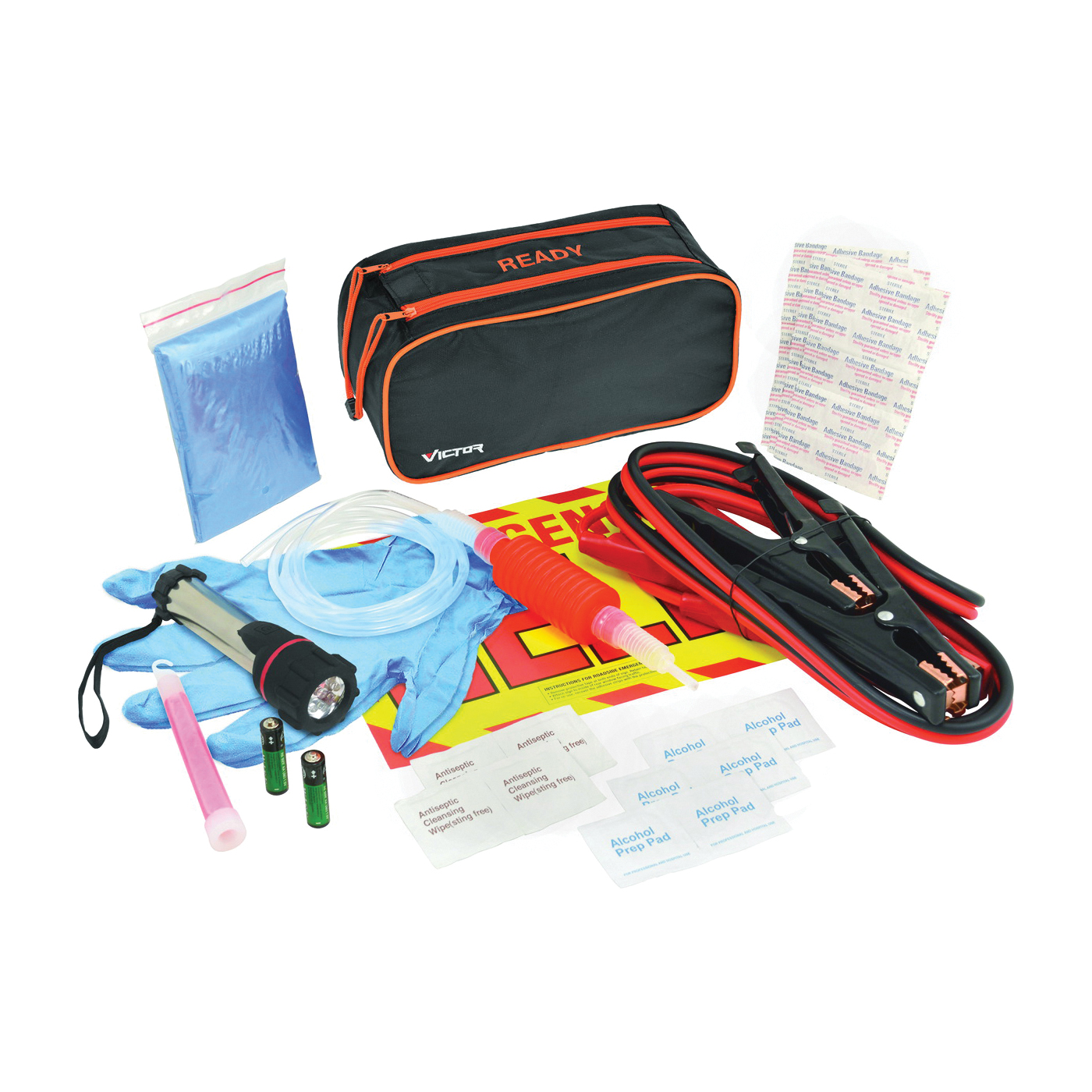 Picture of GENUINE VICTOR 65101-8 Roadside Emergency Kit, 36 -Piece