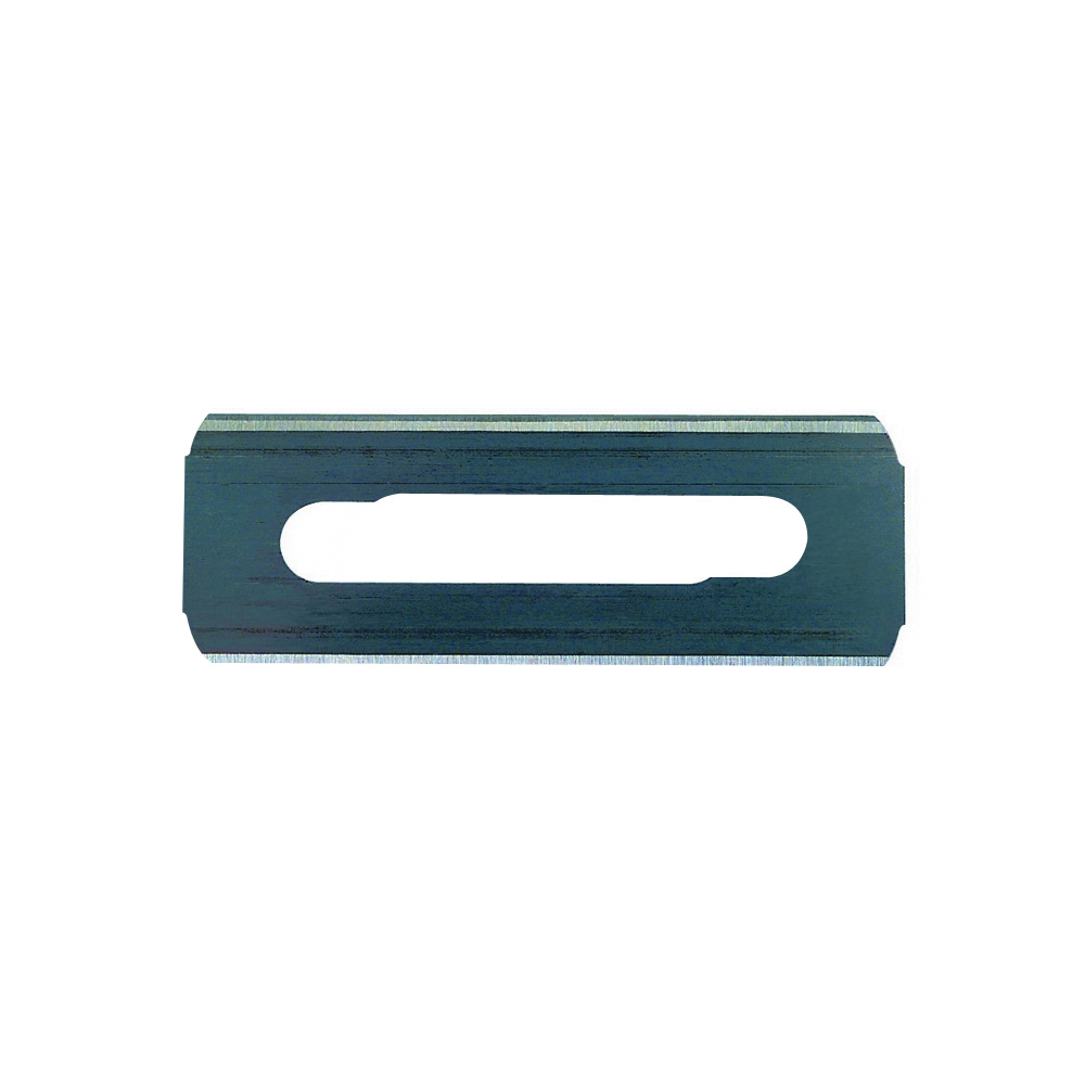Picture of STANLEY 11-525 Knife Blade, 2-1/4 in L, HCS, Double-Edge Edge, 4 -Point, 5/PK, Carded