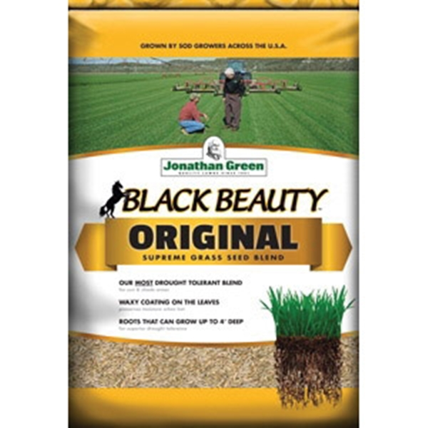 Picture of Jonathan Green Black Beauty 10316 Grass Seed, 50 lb Package, Bag