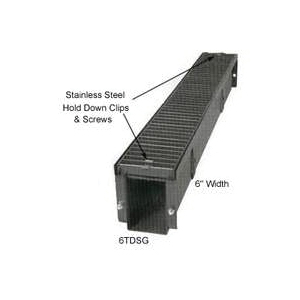 Picture of MARSHALL STAMPING 6EPSWH Trench Drain End Plate, Steel
