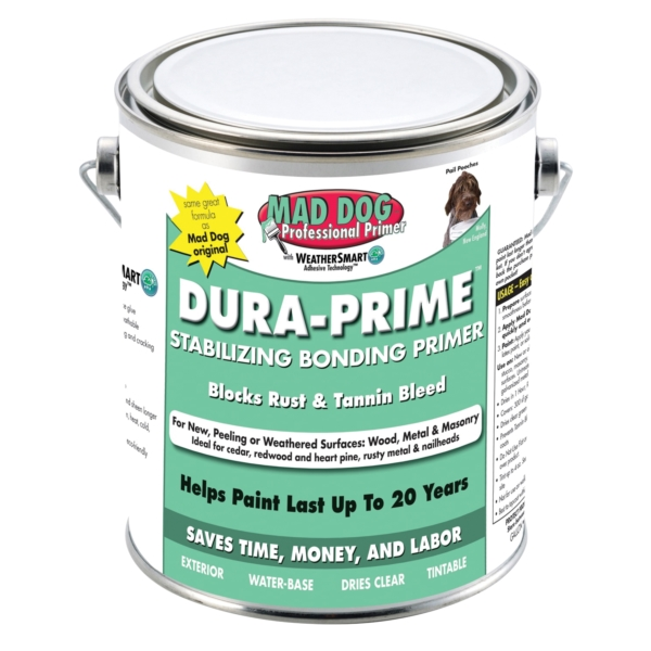 Picture of MAD DOG Dura-Prime MDPDP100 Stabilizing Bonding Primer, Clear, 1 gal, Can