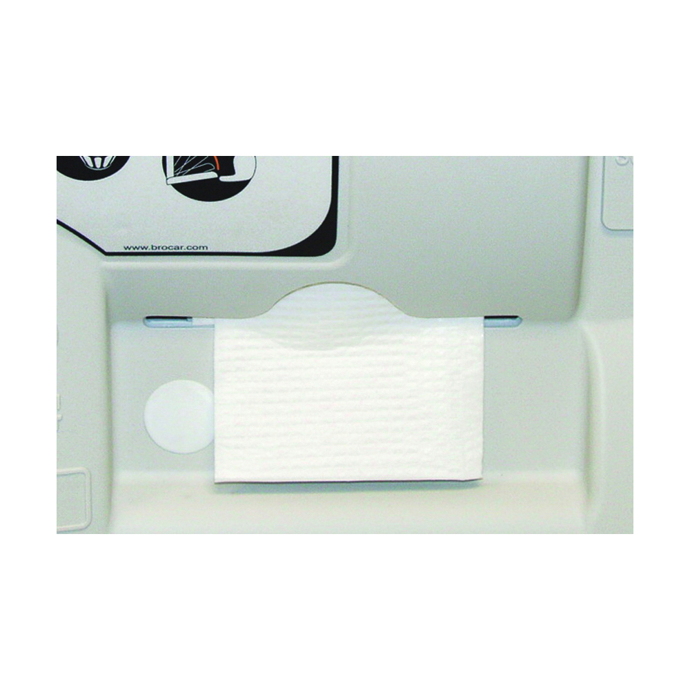 Picture of CONTINENTAL COMMERCIAL 8255 Diaper Changing Station Liner, 250 lb, 6-1/2 in L, 4-3/4 in W, Wall Mounting, White