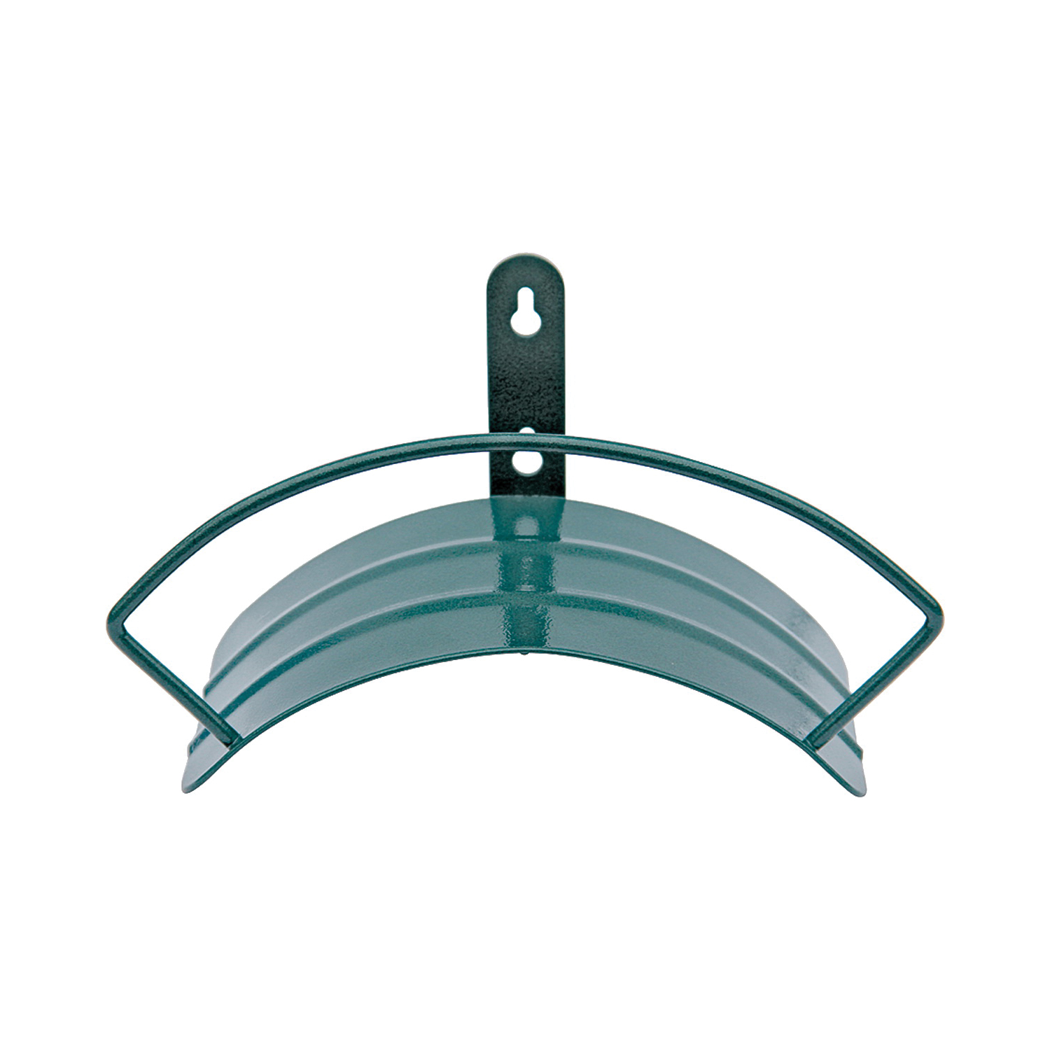 Picture of Landscapers Select 5227-1 Hose Hanger, 100 ft Capacity, Metal, Hammertone Green, Powder-Coated, Wall Mounting