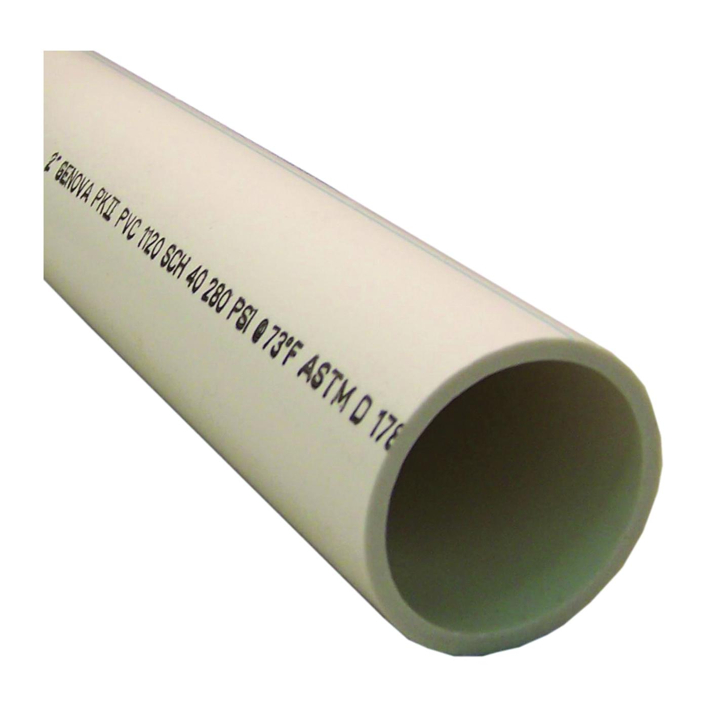 Picture of GENOVA 70022 DWV Pipe, 20 ft L, SCH 40 Schedule