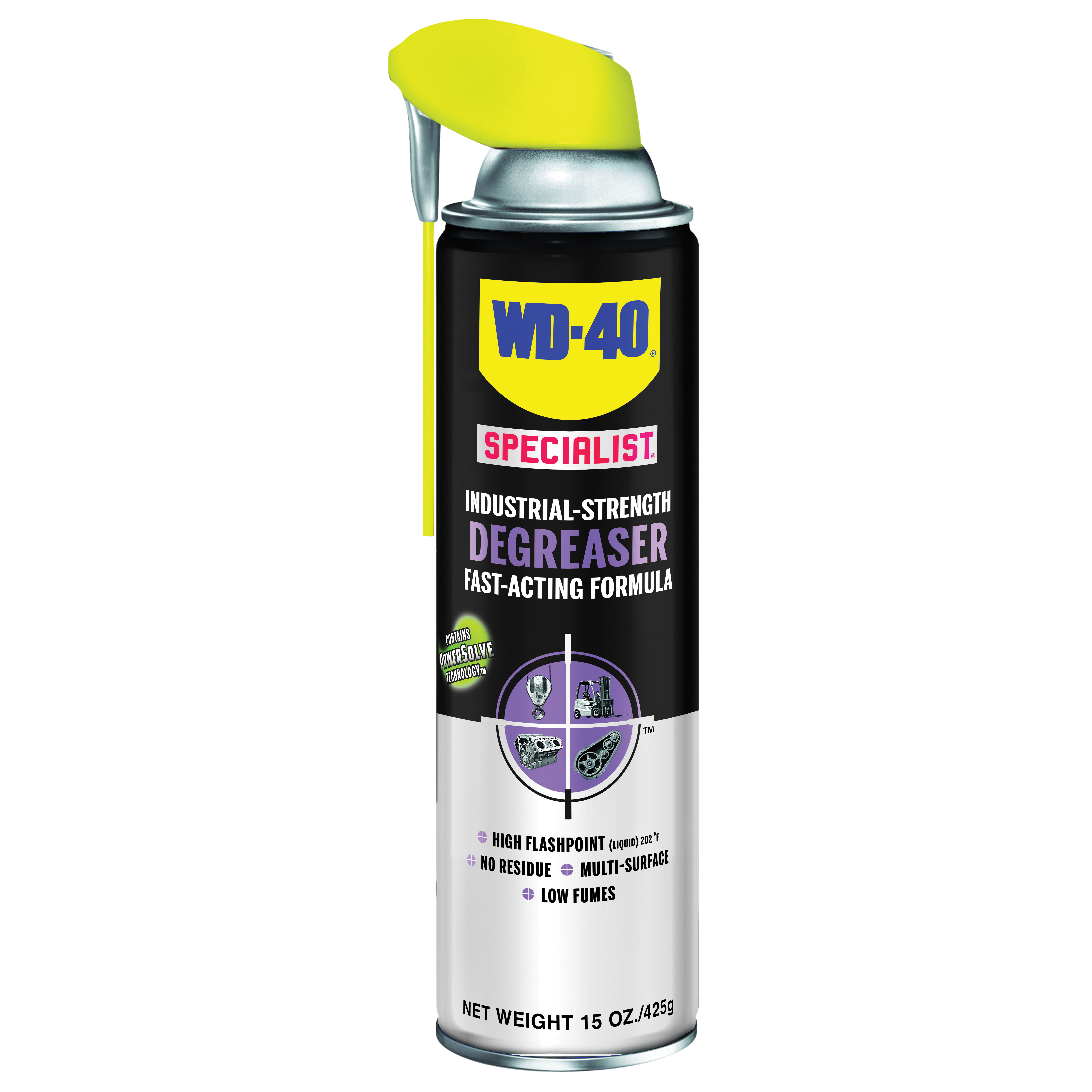 Picture of WD-40 300280 Degreaser, 15 oz Package, Aerosol Can, Liquid, Mild Petroleum
