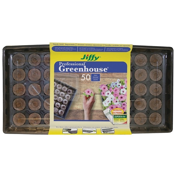 Picture of Jiffy J450ST-20 Greenhouse Pellet, 50 -Piece, Pallet