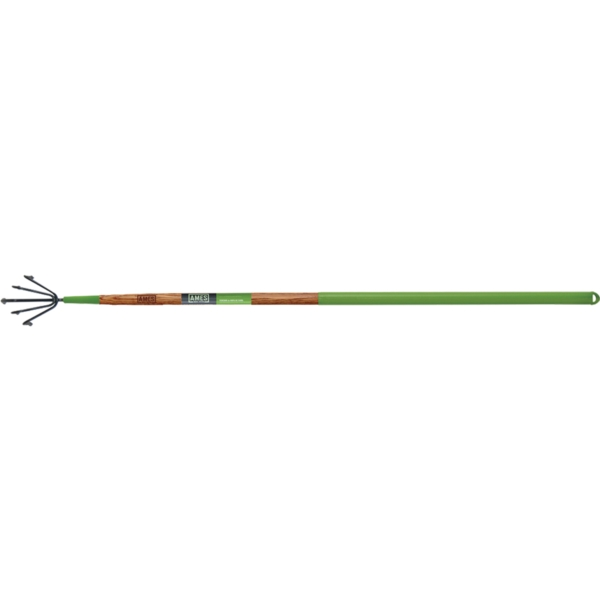 Picture of AMES 2916300 Floral Cultivator, 5 -Tine, Steel Tine, 48 in L Handle
