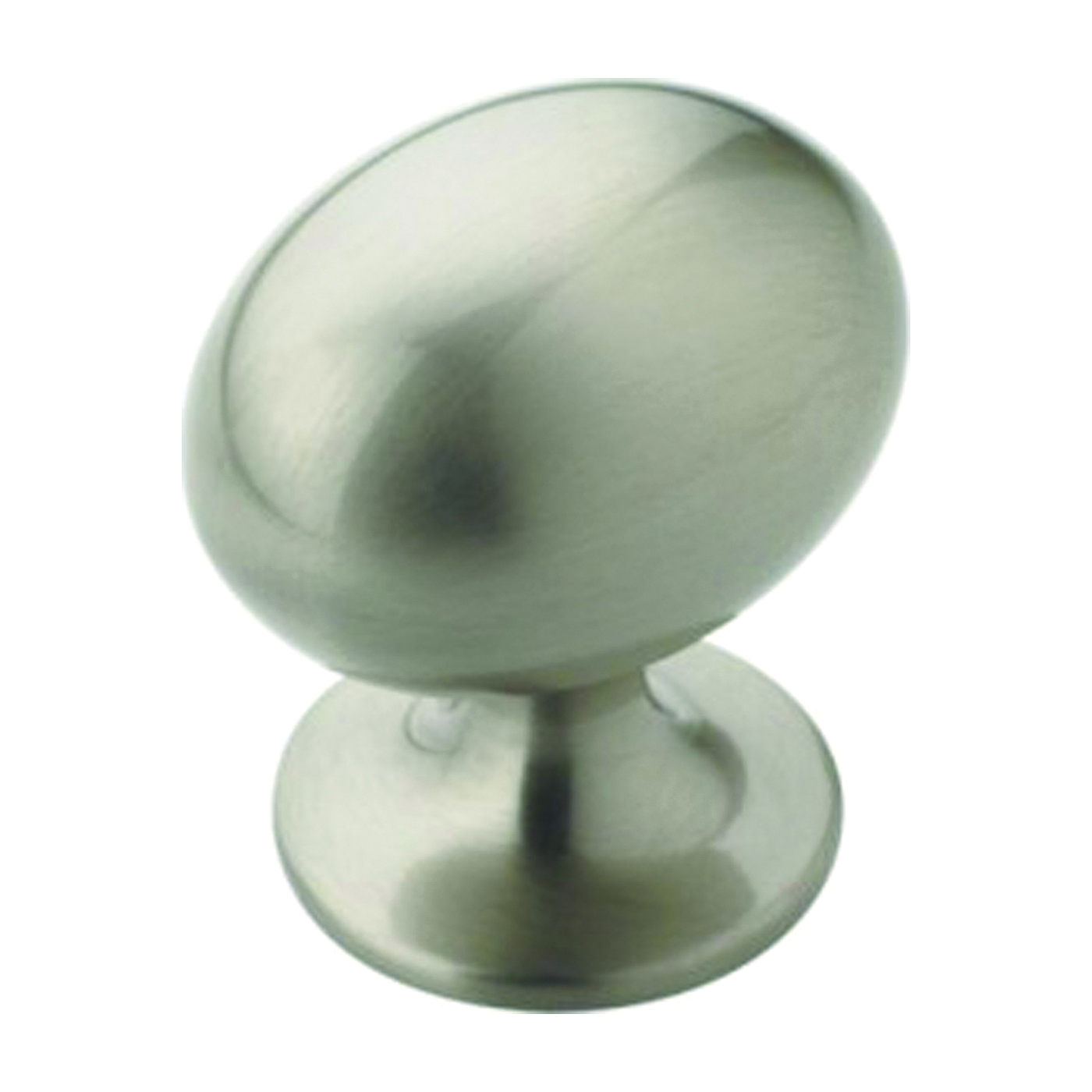 Picture of Amerock BP53018G10 Cabinet Knob, 1-3/8 in Projection, Zinc, Satin Nickel