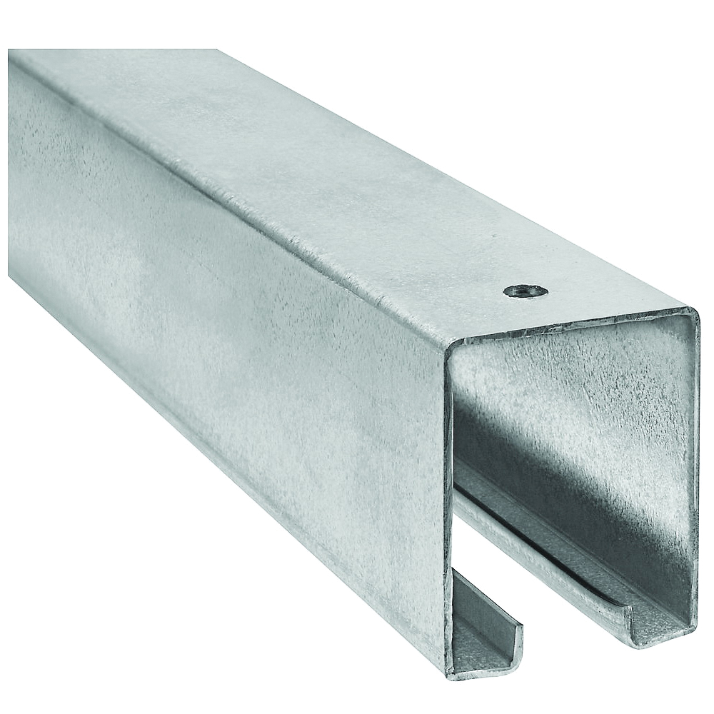 Picture of National Hardware N105-270 Box Rail, Steel, Galvanized, 1-57/64 in W, 2-13/32 in H, 12 ft L