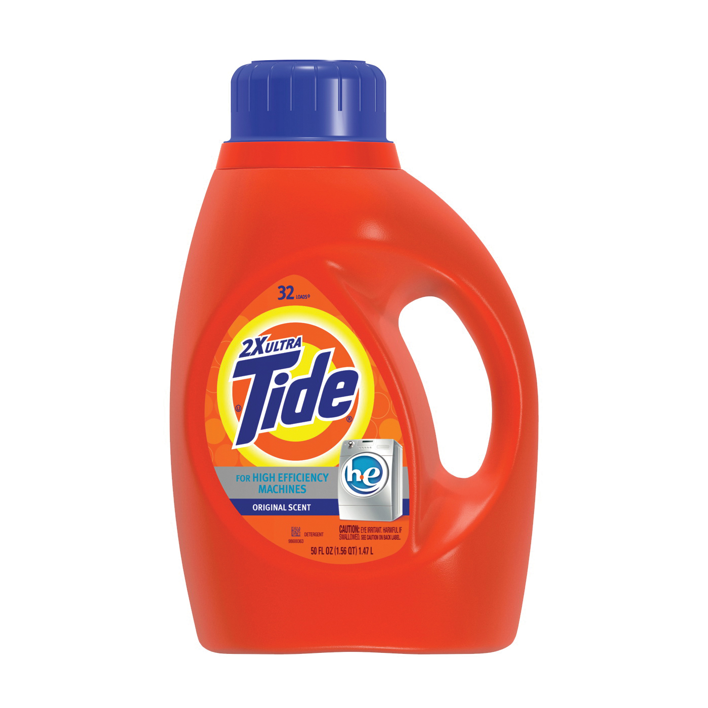 Picture of Tide 04021 Laundry Detergent, 50 oz, Bottle, Liquid, Original