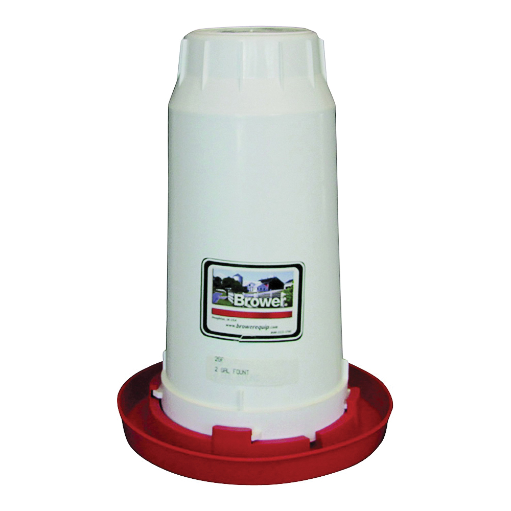 Picture of FORTEX-FORTIFLEX 2GF Chick Waterer Fount and Base, 2 gal Capacity