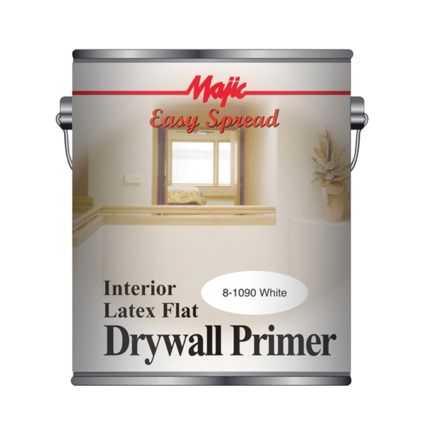 Picture of Majic Paints 8-1091 Series 8-1091-1 Barricade Primer and Paint, Flat, White, 1 gal, Can
