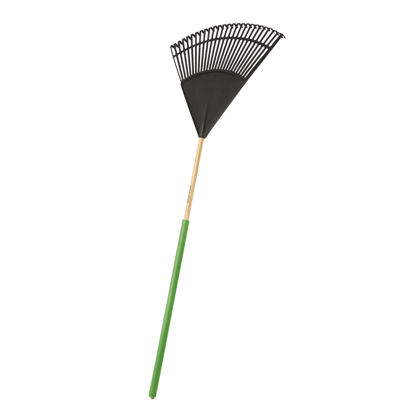 Picture of Landscapers Select 34586 Lawn/Leaf Rake, Poly Tine, 26 -Tine, Wood Handle, 48 in L Handle