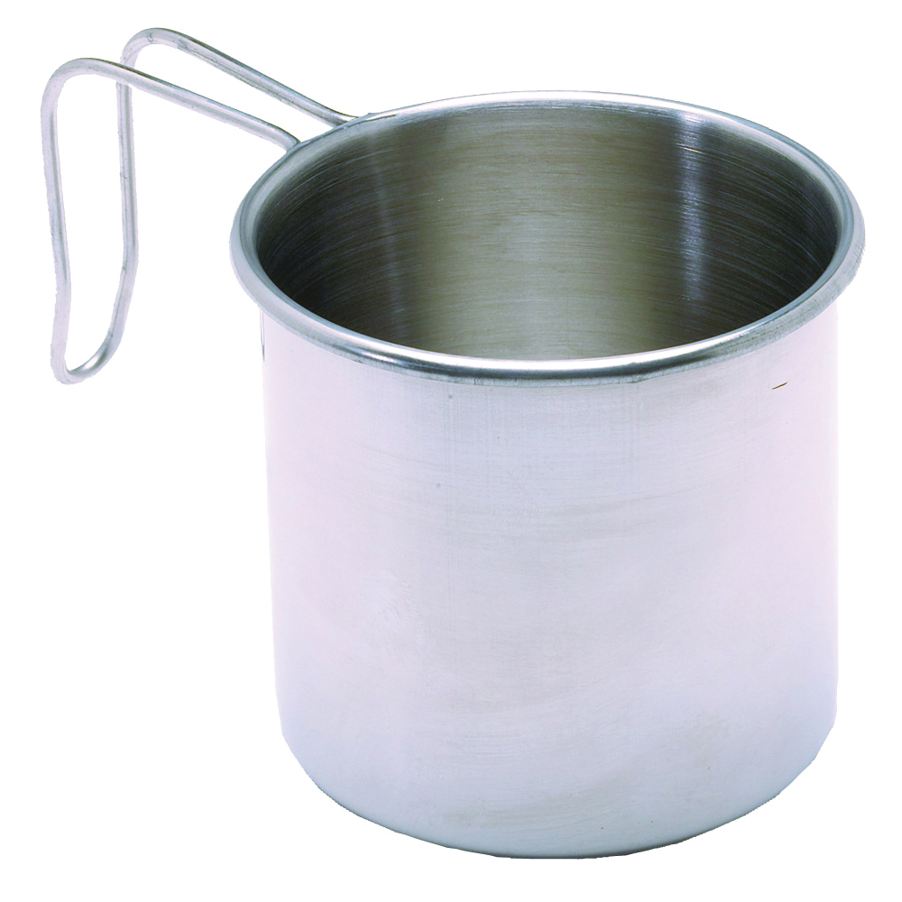 Picture of Texsport 13420 Camping Mug, 16 oz Capacity, Stainless Steel