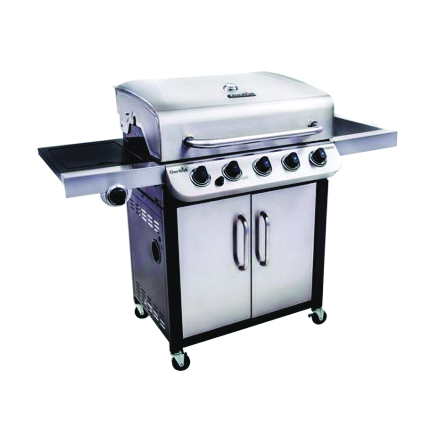 Picture of Char-Broil Performance Series 463275517 Gas Grill, 45000 Btu BTU, Liquid Propane, 5 -Burner, Stainless Steel Body