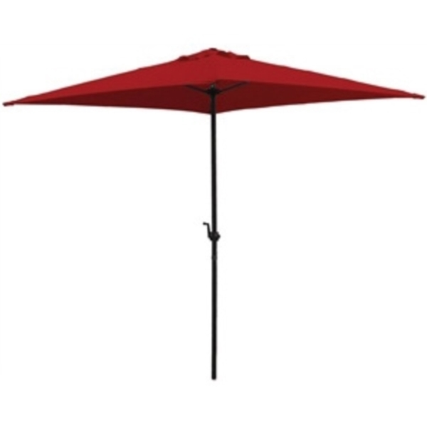 Picture of Bosch 7223860 Market Umbrella, Square Canopy, Red Fabric