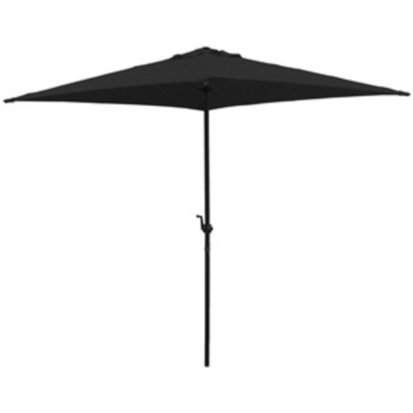 Picture of Seasonal Trends 7223852 Umbrella, Square Canopy, Black Fabric