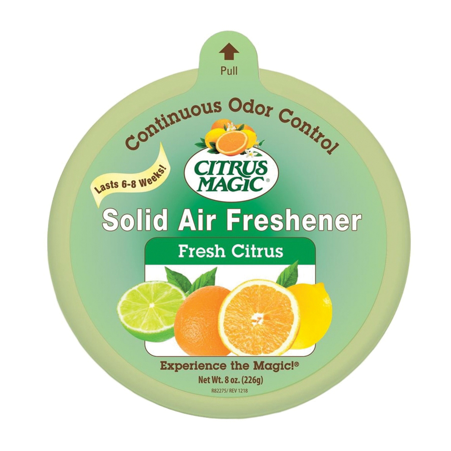 Picture of Citrus Magic 616471279-6PK Air Freshener, 8 oz Package, Fresh Citrus, 350 sq-ft Coverage Area