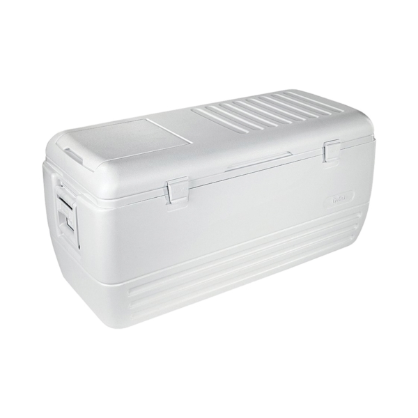 Picture of IGLOO 44363 Chest Cooler, 150 qt Cooler, Polyethylene, White, Up to 2 days Ice Retention
