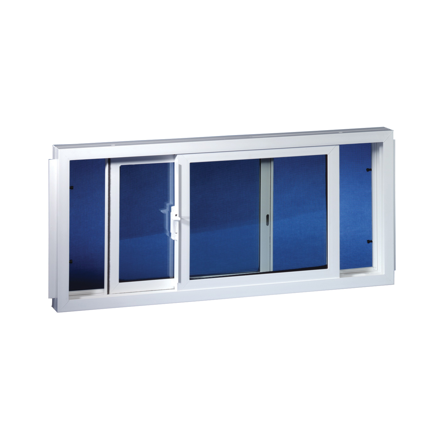 Picture of Duo-Corp 3218SLID Basement Window, Insulated Glass Glass/Screen, Vinyl Frame