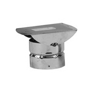 Picture of SELKIRK 243805 Horizontal Termination Pipe Cap, 3 in ID x 8 in OD Dia, Galvanized