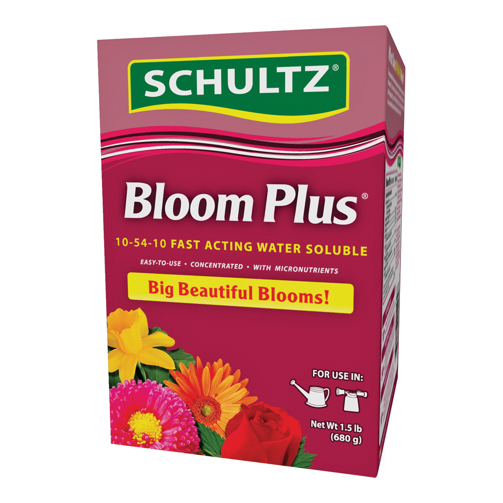 Picture of Schultz Bloom Plus SPF70130 Bloom Fertilizer, Granular, 1.5 lb Package