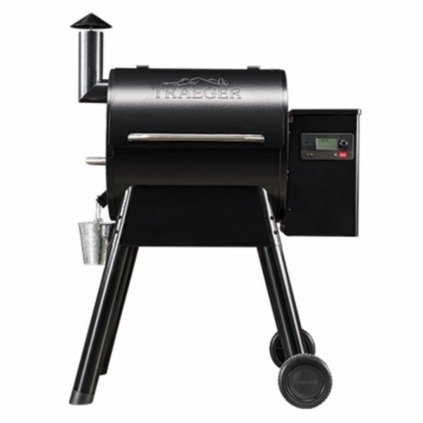 Picture of Traeger Pro 575 Series TFB57GLE Pellet Grill, 36000 BTU, Black