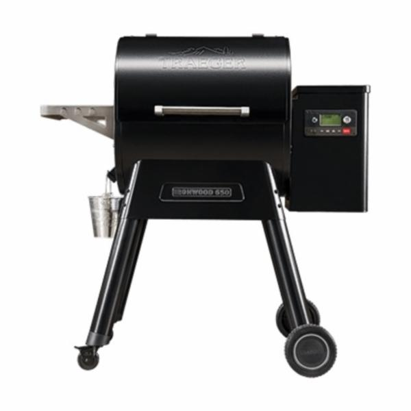 Picture of Traeger Ironwood TFB65BLE Pellet Grill, 36000 Btu BTU, 1 -Burner, 650 sq-in Primary Cooking Surface, Black