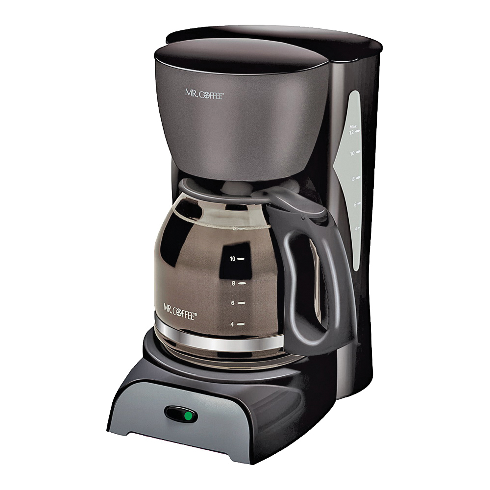 Picture of Mr. Coffee SK13-RB Coffee Maker, 12 Cups Capacity, 900 W, Black