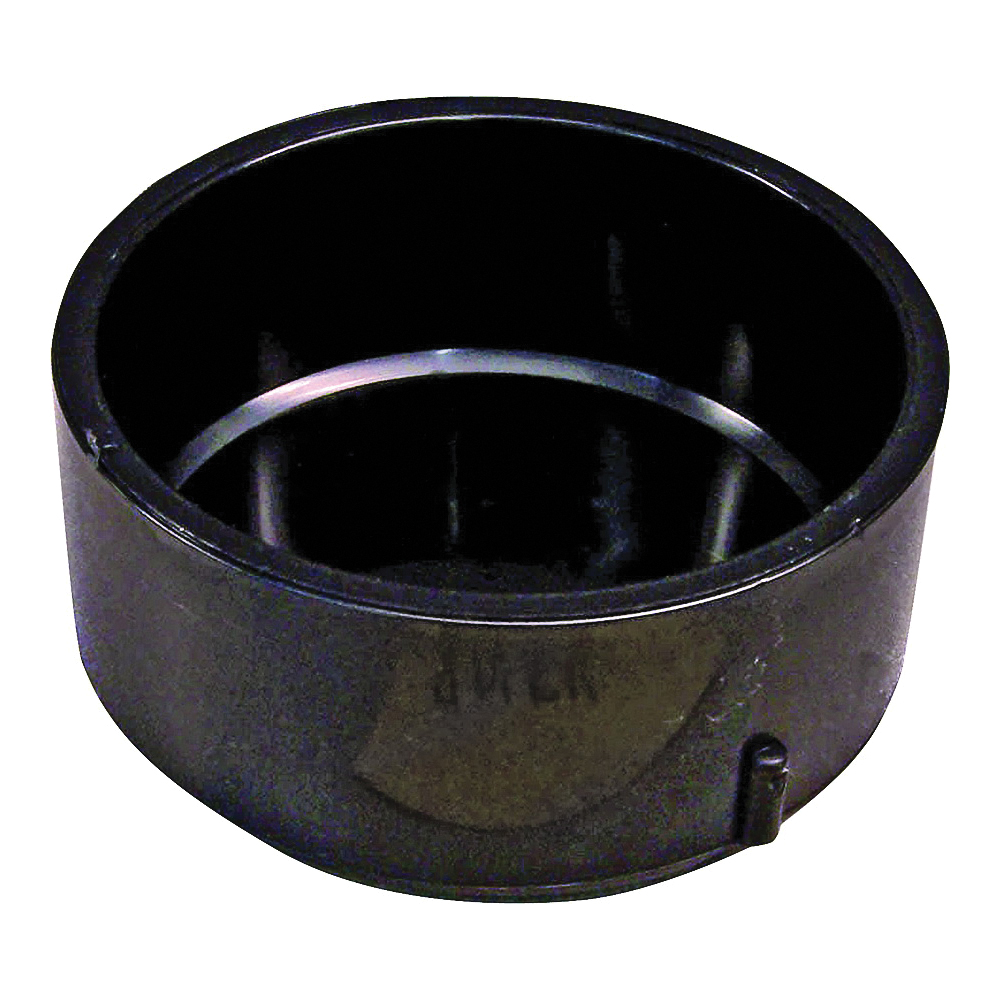 Picture of GENOVA 800 Series 80153 Pipe Cap, 3 in, Hub, Black, SCH 40 Schedule