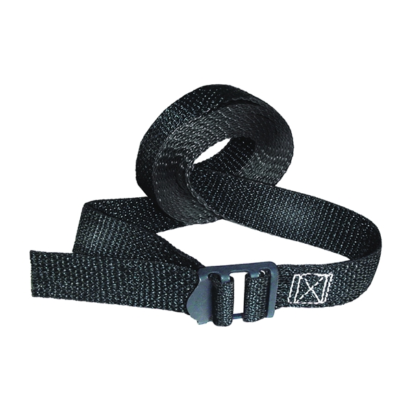 Picture of KEEPER 85207 Lashing Strap, Fully Adjustable, Black/Red