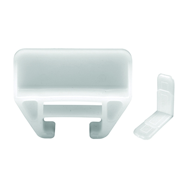 Picture of Prime-Line R 7221 Drawer Track Guides and Glides, Plastic/Polyethylene, White