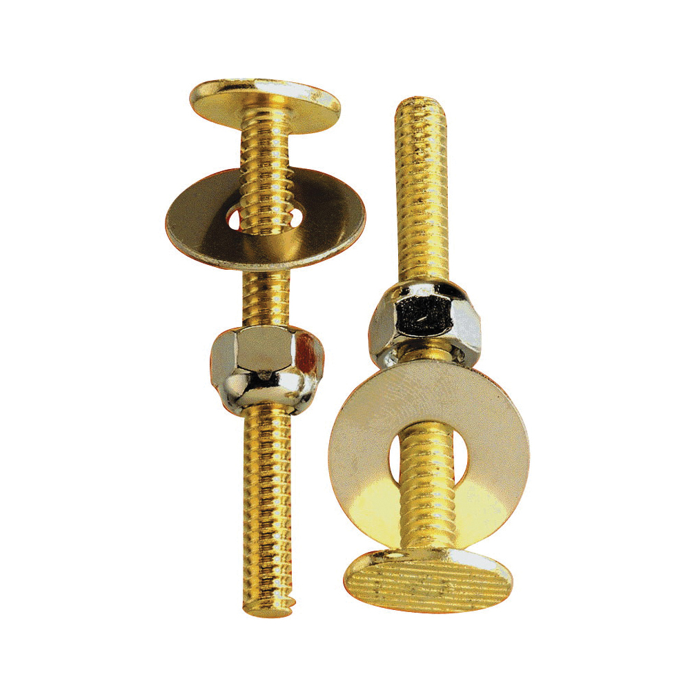 Picture of Plumb Pak PP835-150 Bolt Set, Brass, Carded